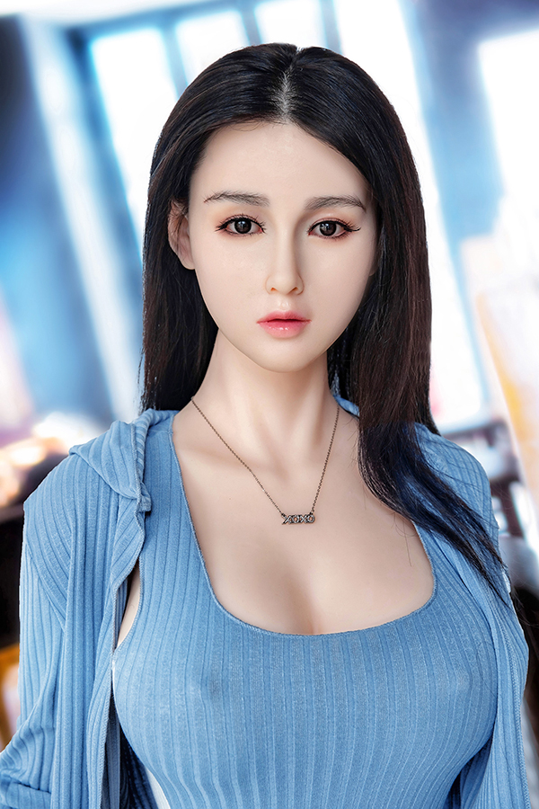 Chinesische Silikonkopf TPE Body Sex Puppe