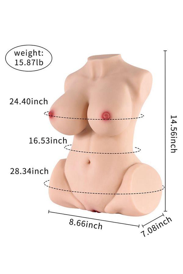 3D Real Design Große Brüste Sexy Körper SQ-MA20033 Guenstige sexpuppen kaufen
