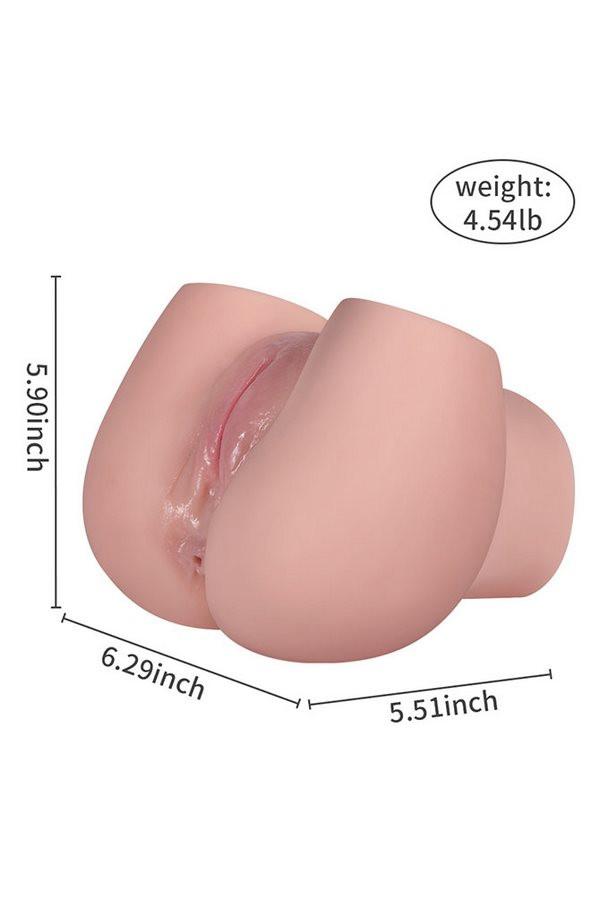 Erwachsene Produkte männlicher Masturbator 2 Loch Sexspielzeug Guenstige sexpuppen kaufen
