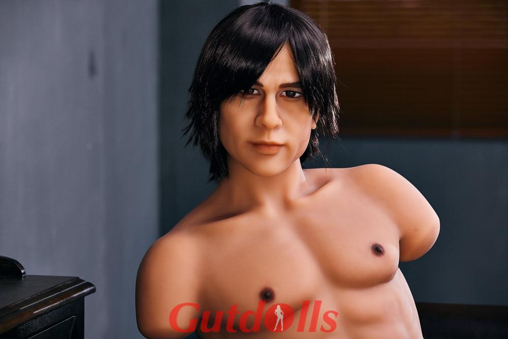 Vollbusige Brust 100cm Torso Halblange männliche Puppe Nr. 1 Kopf Guenstige sexpuppen kaufen